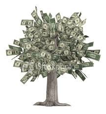 money don't grow on trees