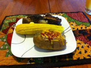 short rib dinner